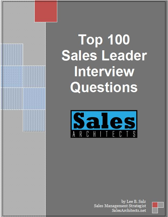 Top 100 Sales Leader Interview Questions