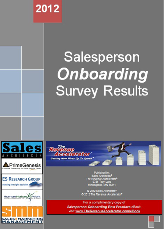 Salesperson Onboarding Survery Result